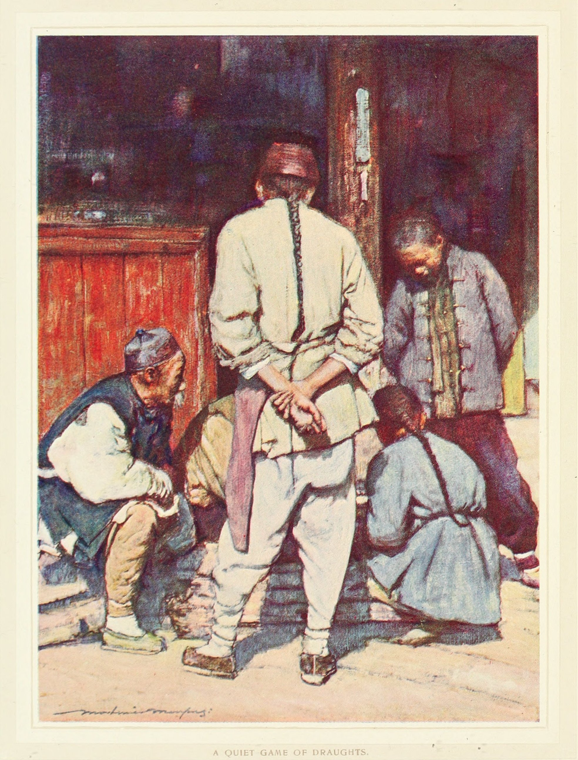 China11.A Quiet Game of Draughts.看下象棋.jpg