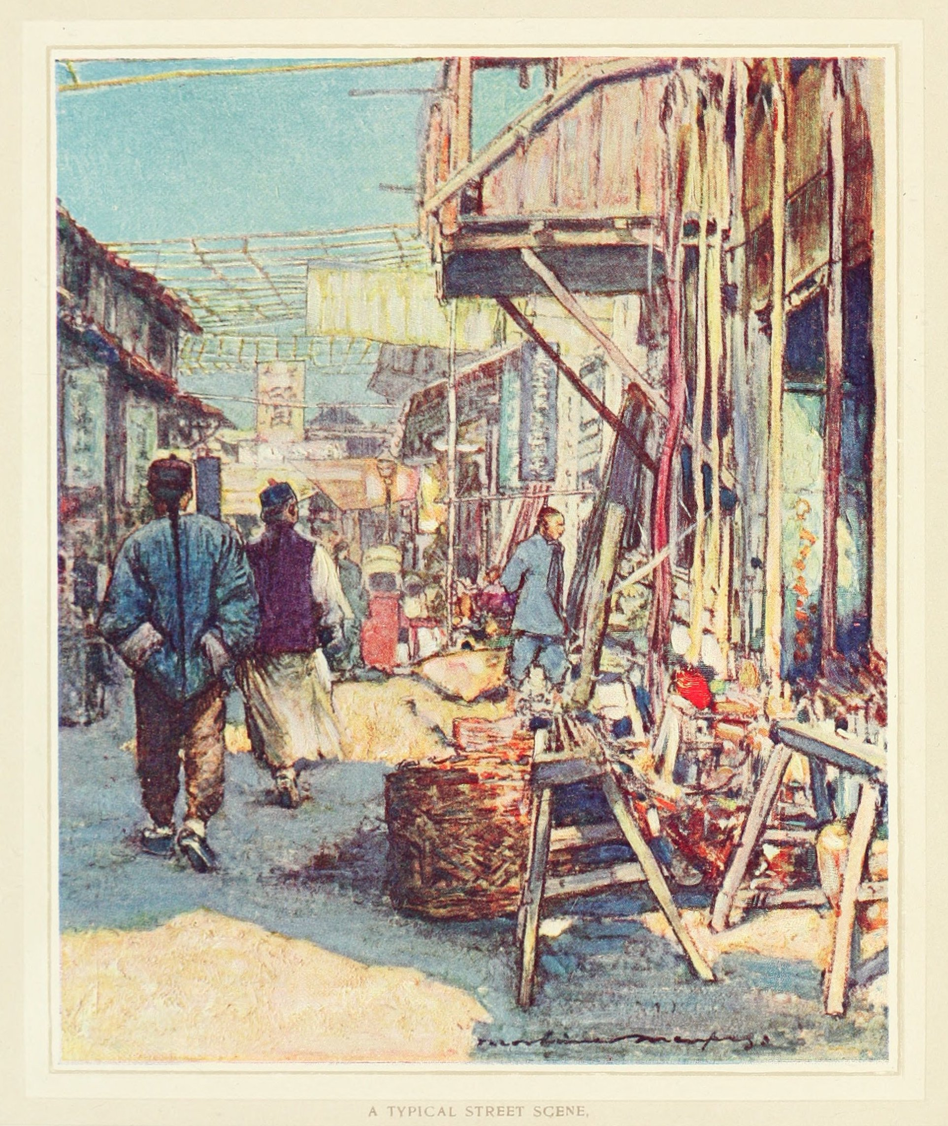 China15.A Typical Street Scene.街景一瞥.jpg